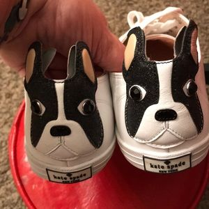 Kate Spade French Bull Dog 8-1/2 Shoes New